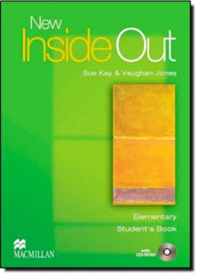 Picture of NEW INSIDE OUT STUDENT´S BOOK WITH CD-ROM  ELEMENTARY