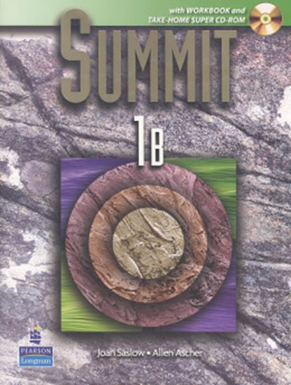 Picture of SUMMIT 1B SPLIT WITH WORKBOOK + SUPER CD-ROM