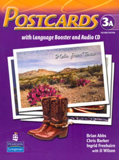 Picture of POSTCARDS 3A SPLIT PACK BRASIL (STUDENT BOOK WITH LANGUAGE BOOSTER AND AUDIO-CD AND READER) SECOND EDITION