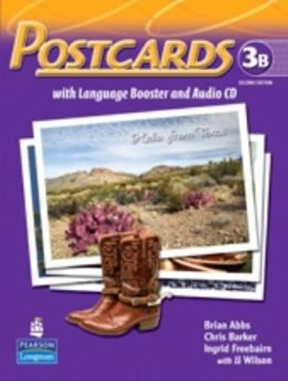 Picture of POSTCARDS 3B SPLIT PACK BRASIL (STUDENT BOOK WITH LANGUAGE BOOSTER AND AUDIO-CD AND READER) SECOND EDITION