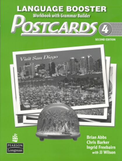 Picture of POSTCARDS LANGUAGE BOOSTER 4  SECOND EDITION