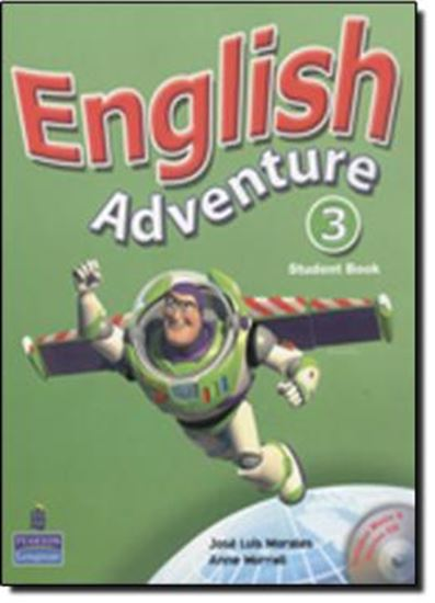 Picture of ENGLISH ADVENTURE 3 PLUS STUDENT´S BOOK WITH AUDIO-CD