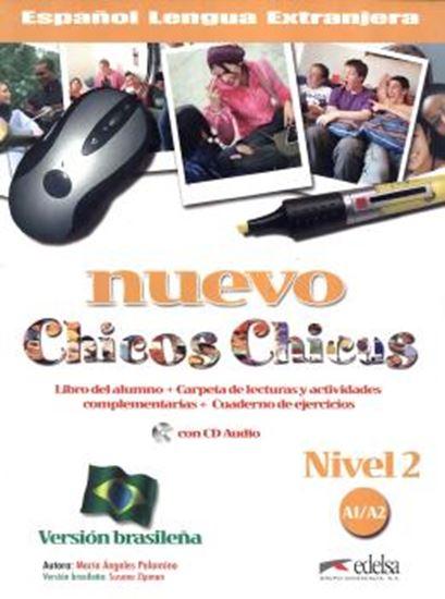Picture of NUEVO CHICOS CHICAS NIVEL 2 - A1/A2 - LIBRO + EJERCICIOS + CD - VERSION BRASILENA