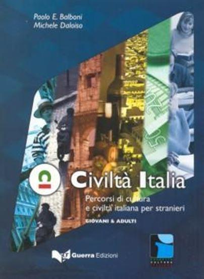 Picture of CIVILTA ITALIA - PERCORSI DI CULTURA E CIVILTA PER STRANIERI (NIVELLO ELEM. / INTERM.)