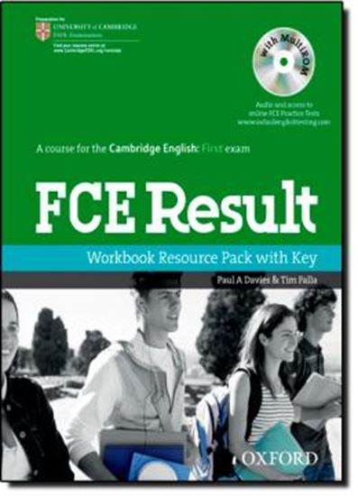 Picture of FCE RESULT WORKBOOK RESOURCE PACK WITH KEY AND MULTIROM