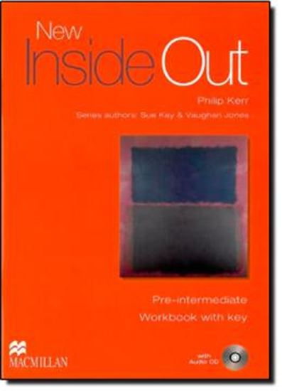 Picture of NEW INSIDE OUT PRE-INTERMEDIATE WB WITH KEY + CD