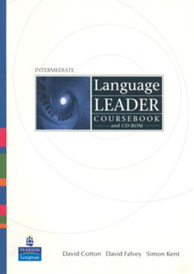 Picture of LANGUAGE LEADER INTERMEDIATE COURSEBOOK AND CD-ROM