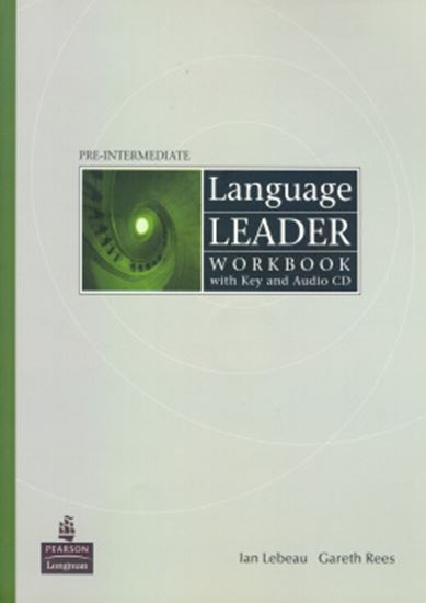 Picture of LANGUAGE LEADER PRE-INTERMEDIATE WORKBOOK WITH KEY AND AUDIO-CD