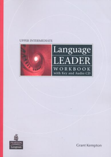 Picture of LANGUAGE LEADER UPPER INTERMEDIATE WORKBOOK WITH KEY AND AUDIO-CD