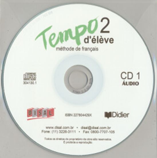 Picture of TEMPO 2 CD CLASSE (3) NACIONAL