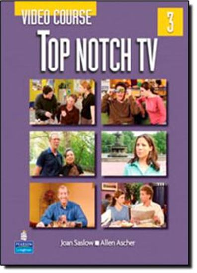 Picture of TOP NOTCH 3 TV VIDEO COURSE BOOK