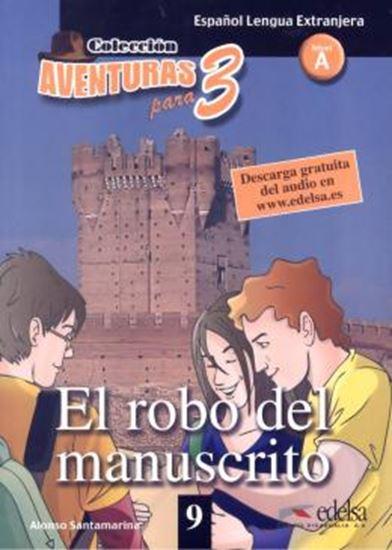 Picture of AVENTURAS PARA 3 EL ROBO DEL MANUSCRITO