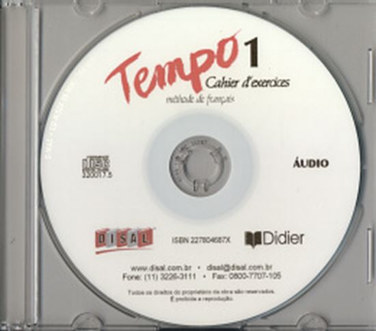Picture of TEMPO 1 CD CAHIER D´EXERCICES NACIONAL (1)