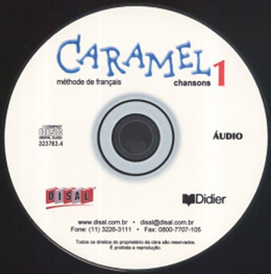 Picture of CARAMEL 1 - CD CHANSONS (1) NACIONAL