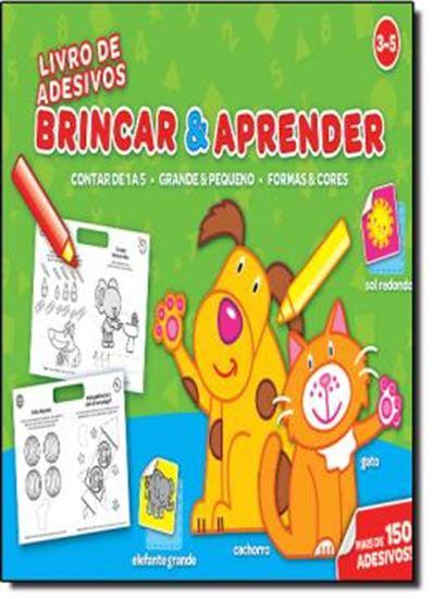 Picture of BRINCAR  APRENDER 3-5 -  LIVRO DE ADESIVOS
