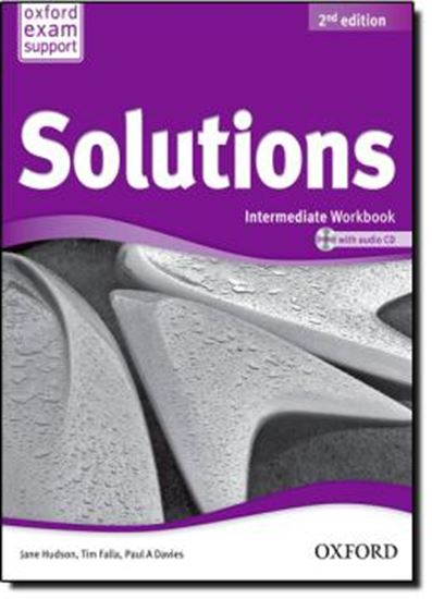 Picture of SOLUTIONS INTERMEDIATE - WORKBOOK AND AUDIO CD PACK - SECOND EDITION