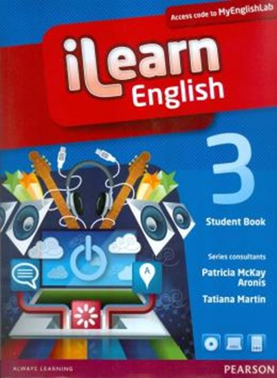 Picture of ILEARN ENGLISH 3 STUDENT BOOK