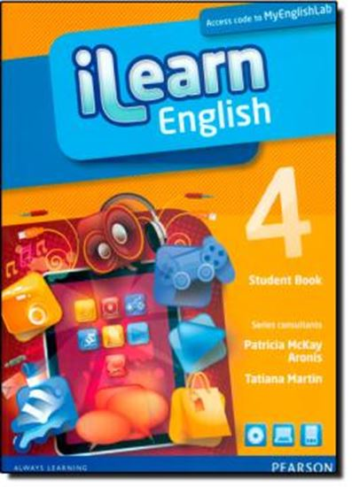 Picture of ILEARN ENGLISH 4 STUDENTS BOOK WITH MYENGLISHLAB PACK