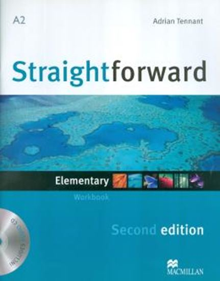 Picture of STRAIGHTFORWARD ELEMENTARY WORKBOOK WITH AUDIO CD(NO/KEY) - SECOND EDITION