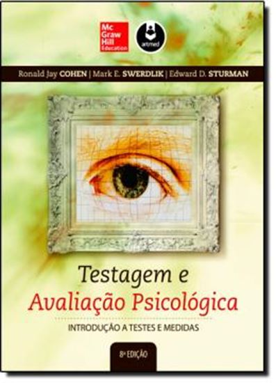 Picture of TESTAGEM E AVALIACAO PSICOLOGICA - 8ºED