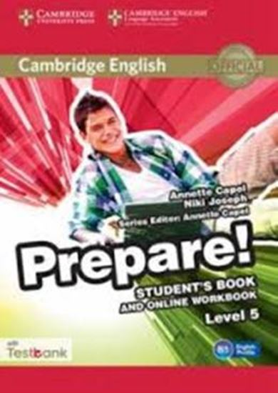 Picture of CAMBRIDGE ENGLISH PREPARE! 5 SB WITH ONLINE WB AND TESTBANK