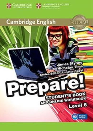 Picture of CAMBRIDGE ENGLISH PREPARE! 6 SB WITH ONLINE WB