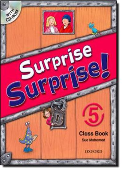 Picture of SURPRISE SURPRISE! 5 STUDENT´S BOOK & CD-ROM PACK