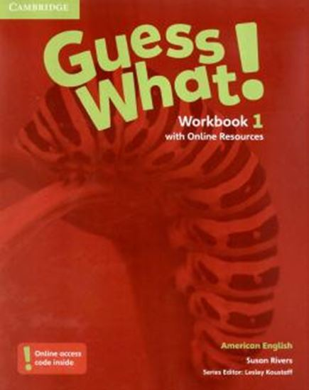 Picture of GUESS WHAT! 1 WB WITH ONLINE RESOURCES - AMERICAN