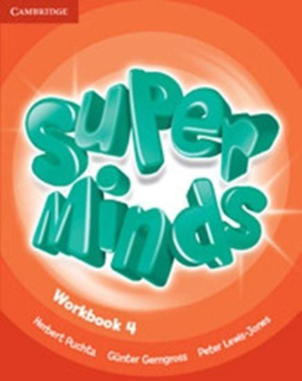Picture of SUPER MINDS BRITISH 4 WORKBOOK