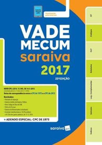 Picture of VADE MECUM TRADICIONAL SARAIVA 2017 - 23ª ED
