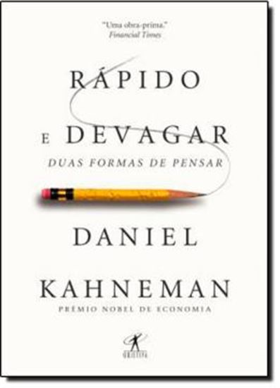 Picture of RAPIDO E DEVAGAR: DUAS FORMAS DE PENSAR