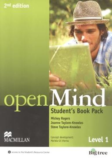 Picture of OPEN MIND 1 SB WITH WB PACK - 2ND ED