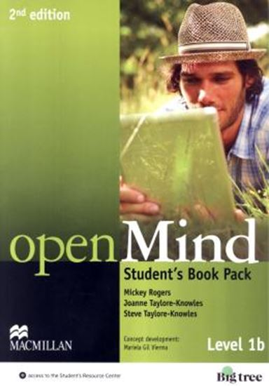 Picture of OPEN MIND 1B SB WITH WB PACK - 2ND ED