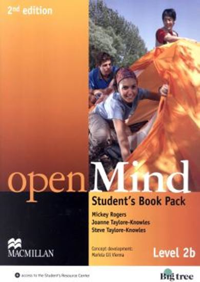 Picture of OPEN MIND 2B SB WITH WB PACK - 2ND ED