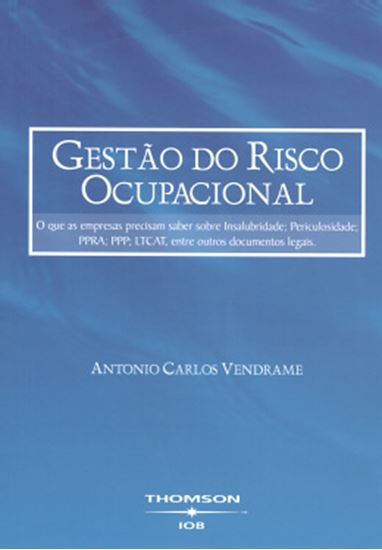 Picture of GESTAO DO RISCO OCUPACIONAL - 2ª EDICAO