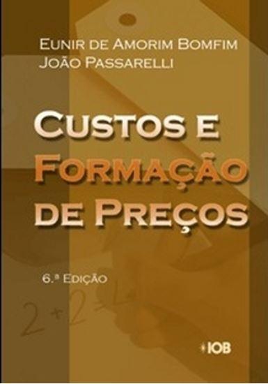 Picture of CUSTOS E FORMACAO DE PRECOS - 6ª EDICAO