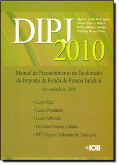 Picture of DIPJ 2010  - MANUAL PRATICO DA DECLARACAO