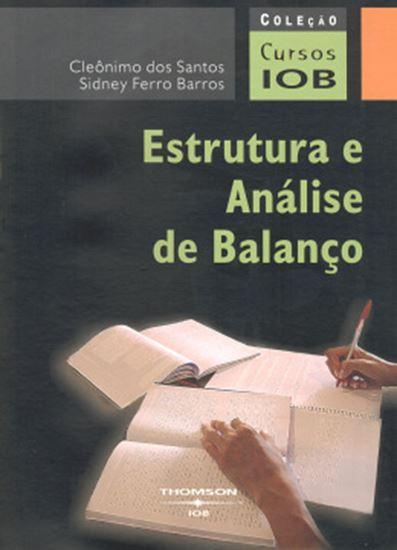 Picture of ESTRUTURA E ANALISE DE BALANCO