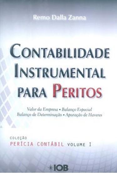 Picture of CONTABILIDADE INSTRUMENTAL PARA PERITOS