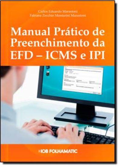 Picture of MANUAL PRATICO DE PREENCHIMENTO DA  EFD  ICMS, IPI E CONTRIBUICOES