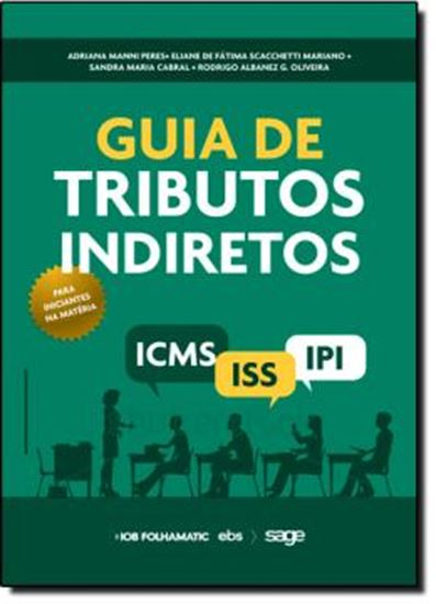 Picture of GUIA DE TRIBUTOS INDIRETOS  ICMS, IPI, ISS