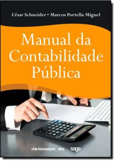 Picture of MANUAL DA CONTABILIDADE PUBLICA