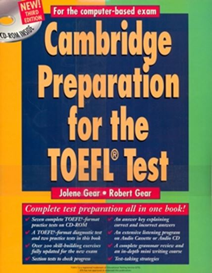 Picture of CAMBRIDGE PREPARATION FOR THE TOEFL TEST - THIRD EDITION - PACK (SB + CD-ROM + 4 AUDIO CD`S)