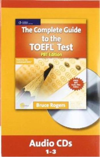 Picture of COMPLETE GUIDE TO THE TOEFL PBT - AUDIO CD