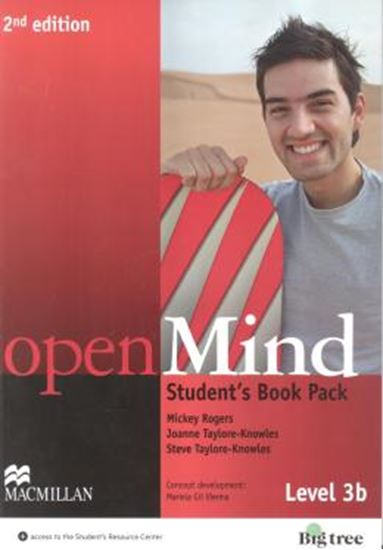 Picture of OPEN MIND 3B SB WITH WB PACK - 2ND ED