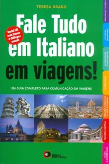 Picture of FALE TUDO EM ITALIANO EM VIAGENS! COM CD AUDIO