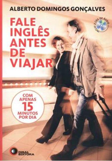 Picture of FALE INGLES ANTES DE VIAJAR - COM APENAS 15 MINUTOS POR DIA - INCLUI 2 CDS DE AUDIO