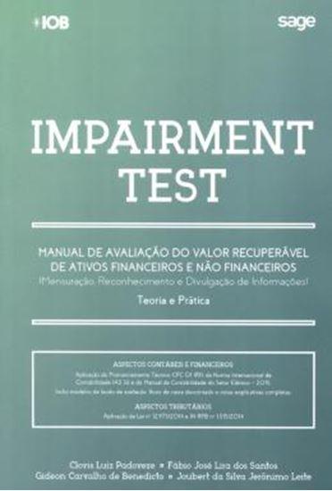 Picture of IMPAIRMENT TEST - MANUAL DE AVALIACAO DO VALOR RECUPERAVEL DE ATIVOS FINANCEIROS E NAO FINANCEIROS