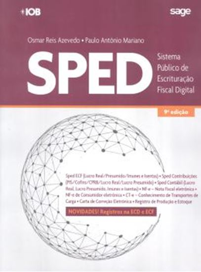 Picture of SPED - SISTEMA PUBLICO DE ESCRITURACAO DIGITAL - 9ª ED