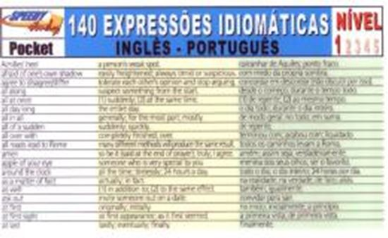 Picture of 140 EXPRESSOES IDIOMATICAS INGLES-PORTUGUES - NIVEL 1